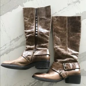 DSW Genuine leather women's high boots
